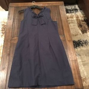 TALBOTS BOW BACK Dressed with Ruched Collar